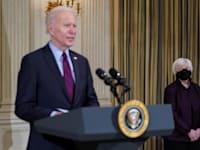ג'נט ילן וג'ו ביידן / צילום: Reuters, KEVIN LAMARQUE