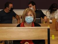 פאינה קירשנבאום בבית המשפט היום (א') / צילום: כדיה לוי