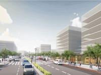 שער הכרמל עוספיא / הדמיה: משרד אבירם אדריכלים
