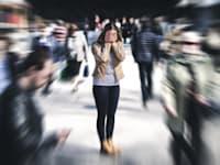 התמודדות עם חרדה / צילום: Shutterstock, Tero Vesalainen