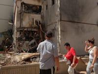 בית הרוס באשדוד, בסבב הלחימה האחרון / צילום: Associated Press, Maya Alleruzzo