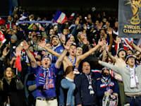אוהדי צרפת במוקדמות יורו 2020 / צילום: Associated Press, Matt Rourke