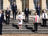 שרי האוצר של מדינות ה-G7 / צילום: Associated Press