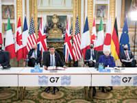 שרי האוצר של מדינות ה-G7 / צילום: Reuters