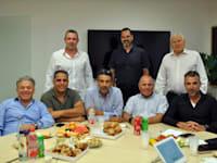 פגישת ראשי ועדי הבנקים במאי השנה / צילום: ישיל שלמה