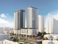 פרויקט התחדשות עירונית ברחוב פיכמן, חולון / הדמיה: גורביץ אדריכלים בוני ערים