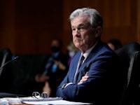 """יו""""ר הפדרל ריזרב, ג'רום פאוול / צילום: Associated Press, Susan Walsh"""