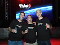 מייסדי Global E במסיבה לכבוד הנפקת החברה בוול סטריט / צילום: רותם ברק