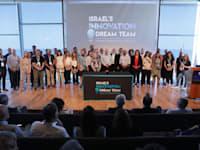 נבחרת החדשנות של מרכז פרס לשלום באירוע ההשקה, לקדם את האקוסיסטם היזמי במגוון דרכים לצד דגש על גיוון והכלה / צילום: אלעד מלכה