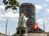 הבנק להסדרי סליקה בינ''ל בשווייץ. ההפקדות של הגרמנים בשוויץ זינקו ב-5 מיליארד דולר / צילום: Shutterstock