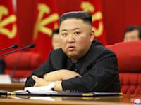 קים ג'ונג און באספה הכללית של מפלגת הפועלים של צפון קוריאה / צילום: Associated Press, Korean Central News Agency/Korea News Service