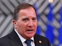 סטפן לוון, ראש ממשלת שבדיה / צילום: Associated Press, John Thys, Pool