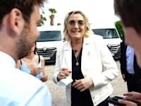 מרין לה פן / צילום: Reuters, Norbert Scanella