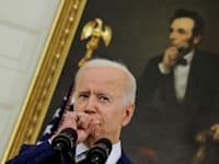 """נשיא ארה""""ב ג'ו ביידן / צילום: Reuters, Carlos Barria"""