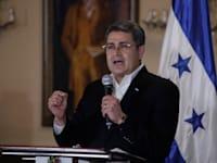 נשיא הונדורס, חואן אורלנדו ארננדס / צילום: Associated Press, Elmer Martinez
