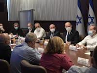 ישיבת קבינט הקורונה / צילום: קובי גדעון-לע''מ