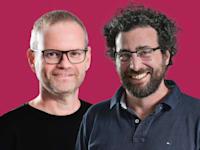 """אלדד פרקש, מנכ""""ל פיירבולט וסער ביטנר, ממייסדי פיירבולט / צילום: פיירבולט"""