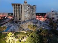 הבניין שקרס בפלורידה / צילום: Reuters, Miami-Dade Fire Rescue