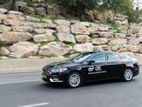 ניסוי במכונית אוטונומית של מובילאיי בירושלים, 2020 / צילום: מובילאיי