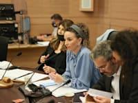 """יו""""רית הקואליציה עידית סילמן / צילום: דוברות הכנסת, נועם מושקוביץ"""