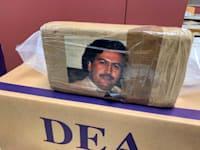 קוקאין מוברח עם תמונה של פבלו אסקובר, הבוס של קרטל הסמים מדיין, שנתפס בניו יורק, 2019 / צילום: Associated Press