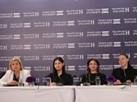מימין: מרב מיכאלי, תמר זנדברג, קארין אלהרר ואורנה ברביבאי / צילום: המכון הישראלי לדמוקרטיה