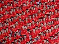 מצעד בסין / צילום: Reuters, Thomas Peter