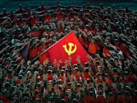 סגידה למפלגה הקומוניסטית בסין / צילום: Associated Press, Ng Han Guan