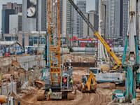 אתר בנייה בתל אביב / צילום: Shutterstock, rasika108