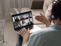 ראיון עבודה בזום / צילום: Shutterstock