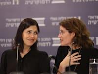 השרות תמר זנדברג וקארין אלהרר / צילום: המכון הישראלי לדמוקרטיה