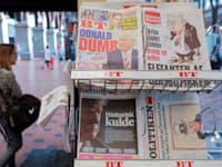 דוכן עיתונים בקופנהאגן, 2019 / צילום: Reuters, Andrew Kelly