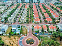 שכונה של בתים פרטיים בראשון לציון / צילום: Shutterstock