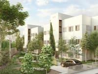 """מעונות העובדים ברחוב מזא""""ה  יהפכו למתחם בוטיק / הדמיה: אדריכל גידי בר אוריין"""