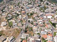 הכפר הדרוזי עספיא, השוכן על הר הכרמל / צילום: Shutterstock, StockStudio Aerials