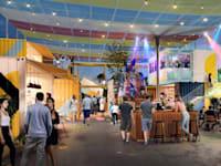 שוק הטרמינל באילת - הדמיה / צילום: לדרמן ורבקל אדריכלות