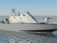 ספינת ביטחון מסוג 'שלדג' במסגרת הסכם רכש כלי שיט / צילום: מספנות ישראל