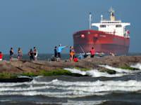 מכלית נפט בטקסס / צילום: Associated Press, Eric Gay