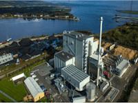 מתקן המרת אשפה לאנרגיה (10MW) של קרן הליוס בבריטניה / צילום: Profimex