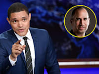 """טרוור נואה, המנחה ב""""דיילי שואו"""" / צילום: Associated Press, Evan Agostini"""
