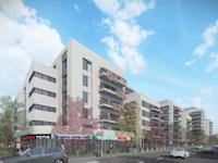 תוכנית התחדשות עירונית בשכונת תל גיבורים בחולון / הדמיה: גשן אדריכלים