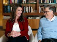 ביל גייטס ומלינדה פרנץ' גייטס / צילום: Associated Press, Elaine Thompson