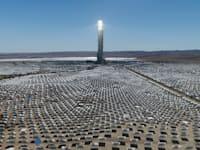 תחנת הכוח הסולארית ''מגלים'' / צילום: אלבטרוס