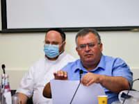 דוד ביטן בדיון על הקמת הועדות בכנסת / צילום: נועם מושקוביץ, דוברות הכנסת