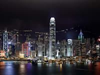 קו הרקיע של הונג קונג / צילום: Associated Press, Vincent Yu