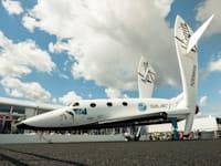 החללית של Virgin Galactic / צילום: Shutterstock, Steve Mann