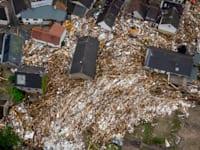 ההרס בעירייה הגרמנית שולד בשל השיטפונות / צילום: Associated Press, Michael Probst