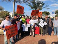 הפגנה נגד בניית בתי המלון בחוף לידו באשדוד / צילום: אשדוד רוצה שינוי
