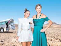 """ספיר ברמן ונועה קירל בקמפיין yes / צילום: יח""""צ אוהד רומנו"""