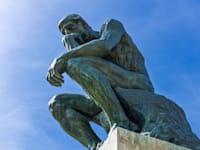 """פסלו המוכר של רודן, """"האדם החושב"""" / צילום: Shutterstock"""